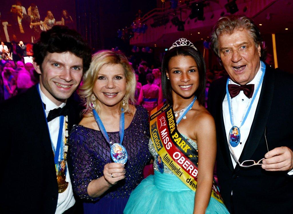 Michi Glück mit Marianne und Michael